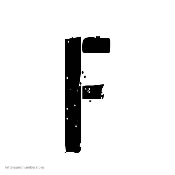 Army Letter F
