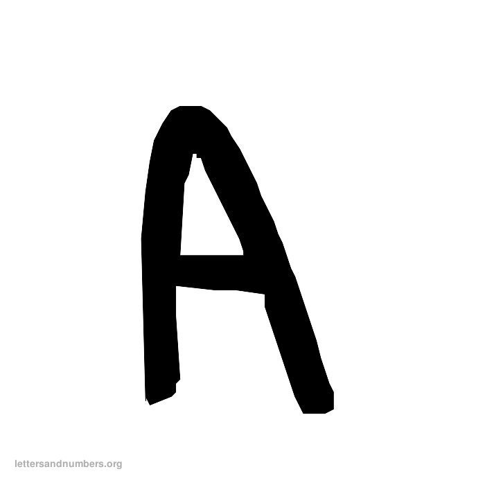 A-Z Handwriting Letters