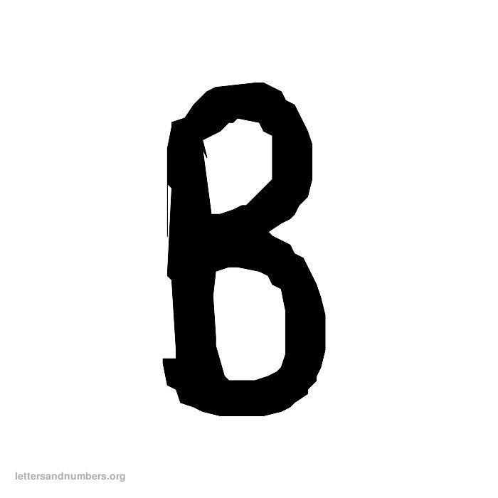 Handwriting Letter B