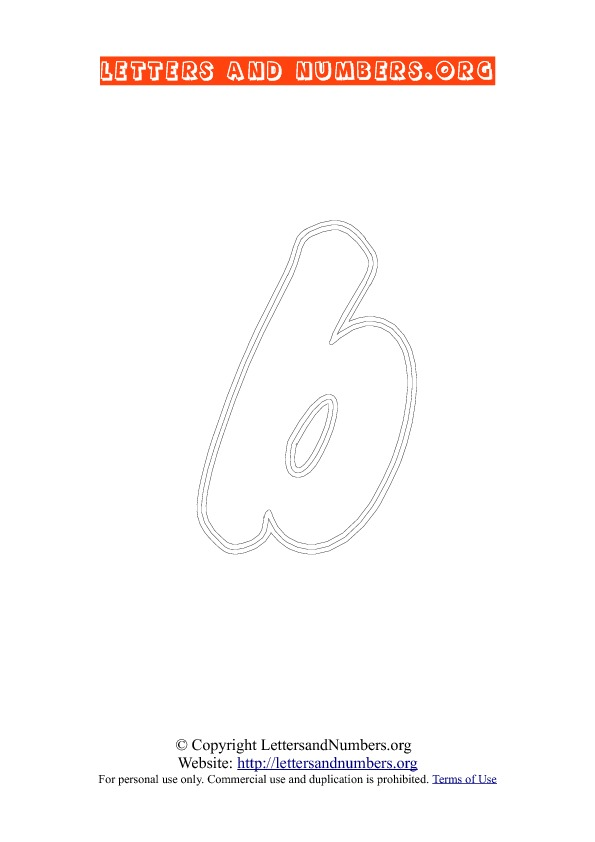 Letter B Lowercase Coloring 2