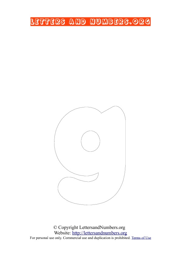 PDF Bubble Letter Coloring G