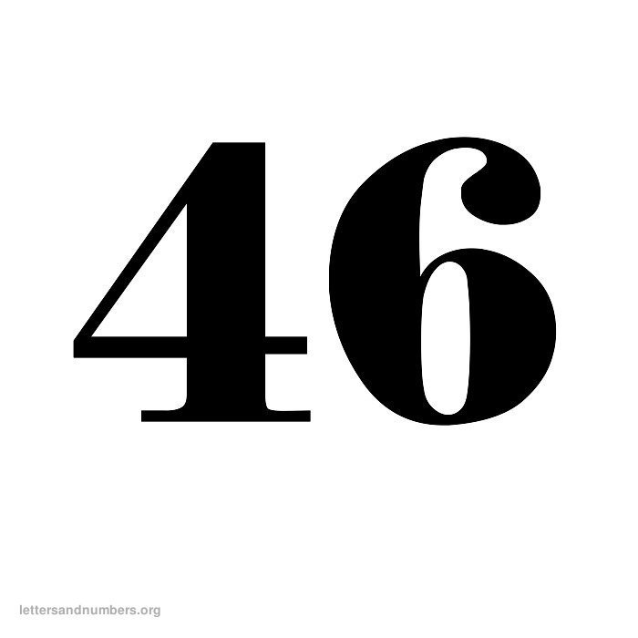 Printable Old English Numbers 1 to 50 | Letters and ... Old English Numbers Printable Free
