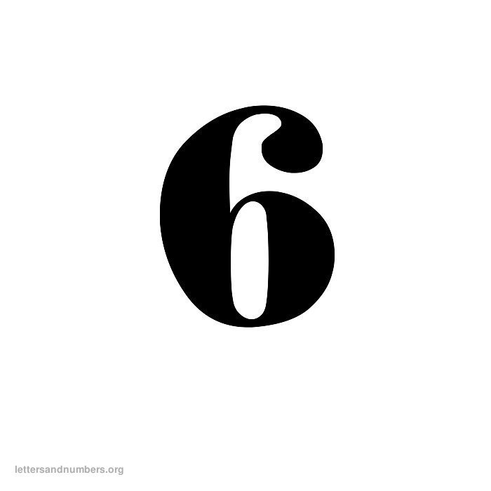 Printable Old English Numbers 1 to 50 | Letters and ... Old English Numbers 1 10