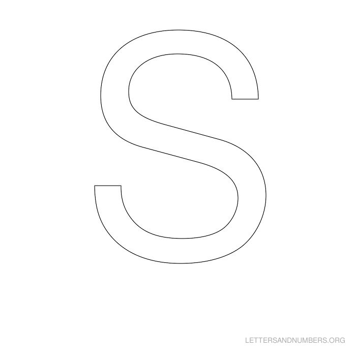 A z letter stencils letters and numbers org letter stencil s spiritdancerdesigns Gallery