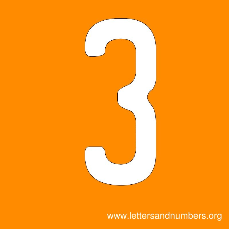 Number Signs 3