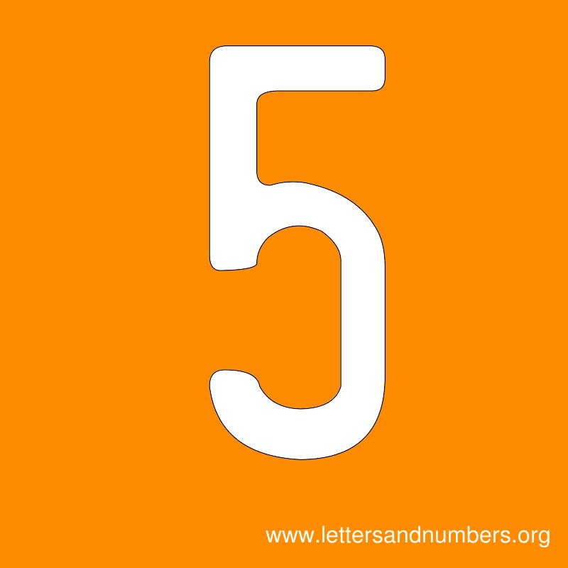 Number Signs 5