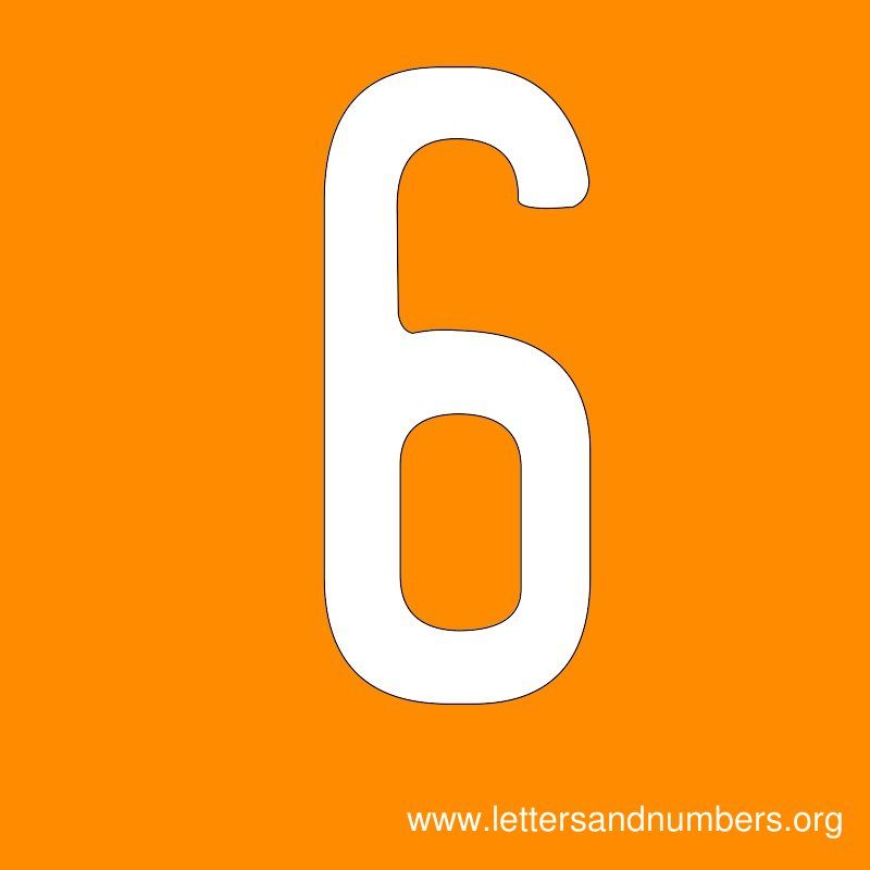 Number Signs 6