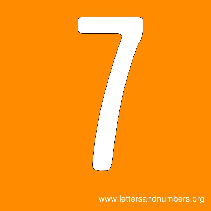 Number Signs 7